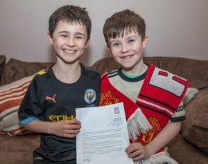 ความไร้เดียงสา สุดน่ารักของเด็ก10 ขวบเขียนจดหมายส่งไปยังทีม หงส์แดง