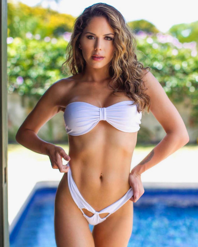 ริงเกิร์ล สาวสวยสุดเซ็กซี่ บริตต์นีย์ พาลเมอร์ แห่งเวที UFC รายการศิลปะการต่อสู้
