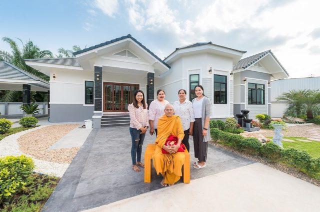 ลูกยางไทย อรอุมานักวอลเลย์บอลสาวทีมชาติไทยสร้างบ้านให้พ่อแม่ ด้วยน้ำพักน้ำแรง