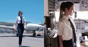 แอฟ ทักษอร คุณแม่เลี้ยงเดี่ยวกับมาดกัปตันหญิงขับเครื่องบิน เท่สะดุดตา