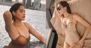ปุ๊กลุก อดีตมิสไทยแลนด์ยูนิเวิร์ส อวดหุ่นแซ่บโชว์เซ็กซี่ ริมสระน้ำ
